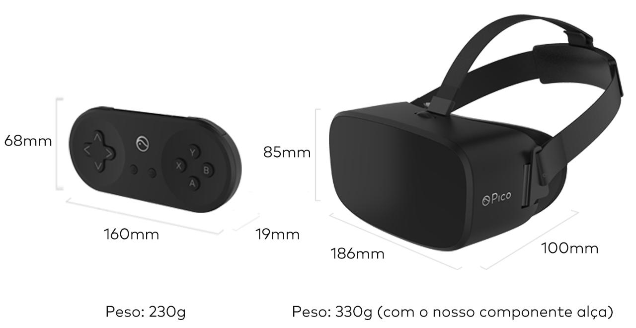 Pico Neo DKS尺寸质量